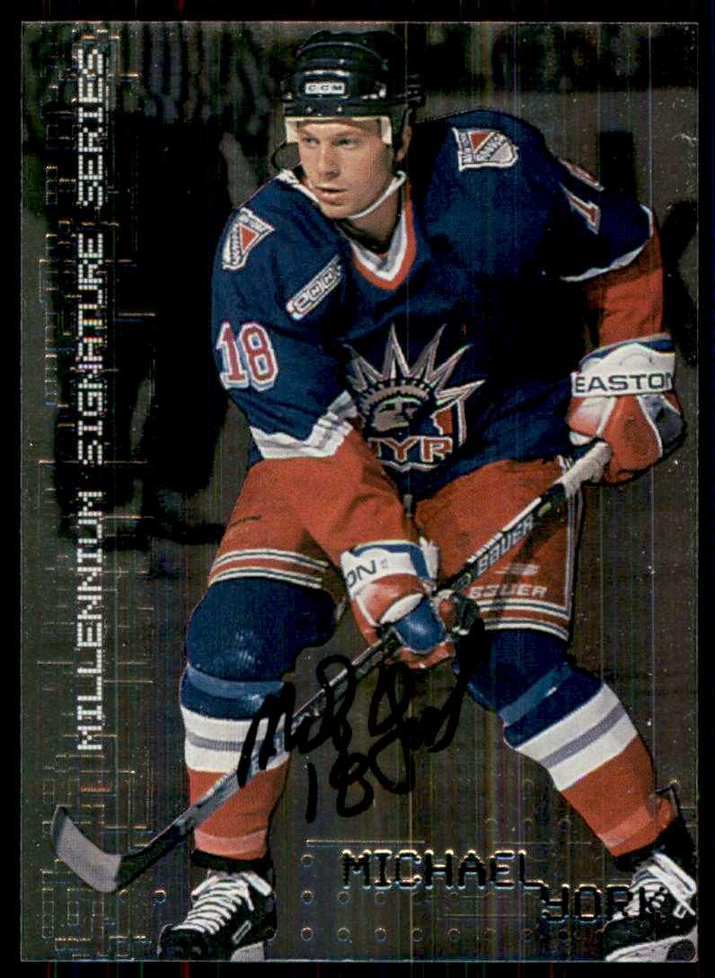 1999-00 Bap Millennium Autographs Michael York #167 card front image