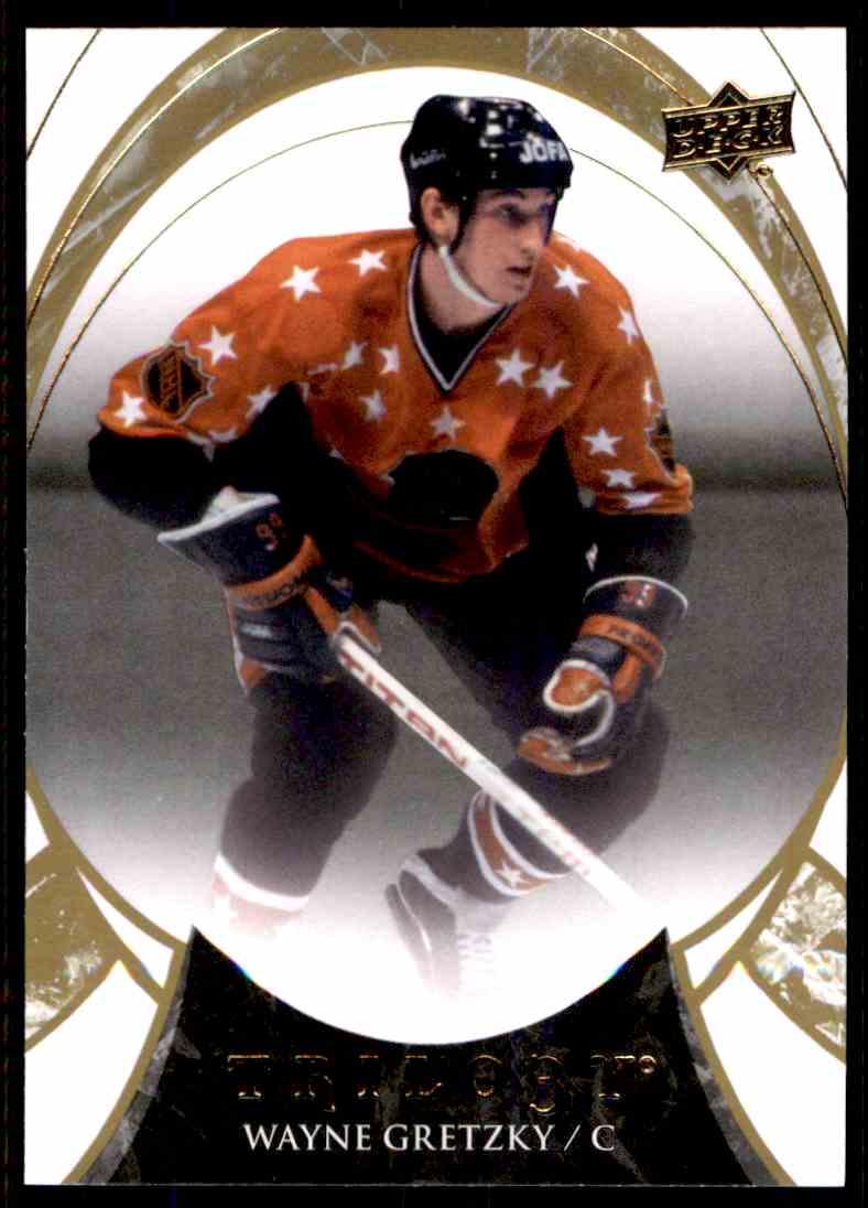 2015-16 Upper Deck Trilogy Wayne Gretzky #100 card front image