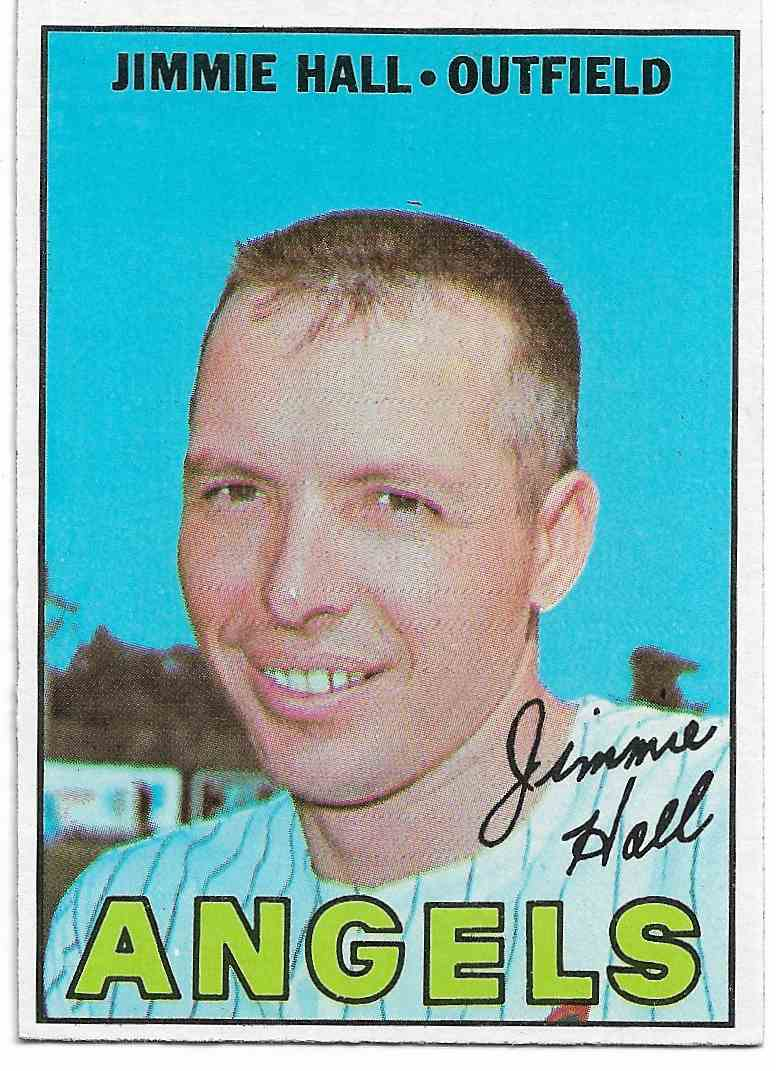 1967 Topps Jimmie Hall #432 card front image