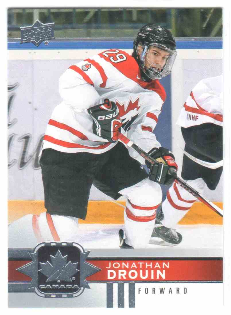 2017-18 Upper Deck Team Canada Canadian Tire Jonathan Drouin #116 card front image