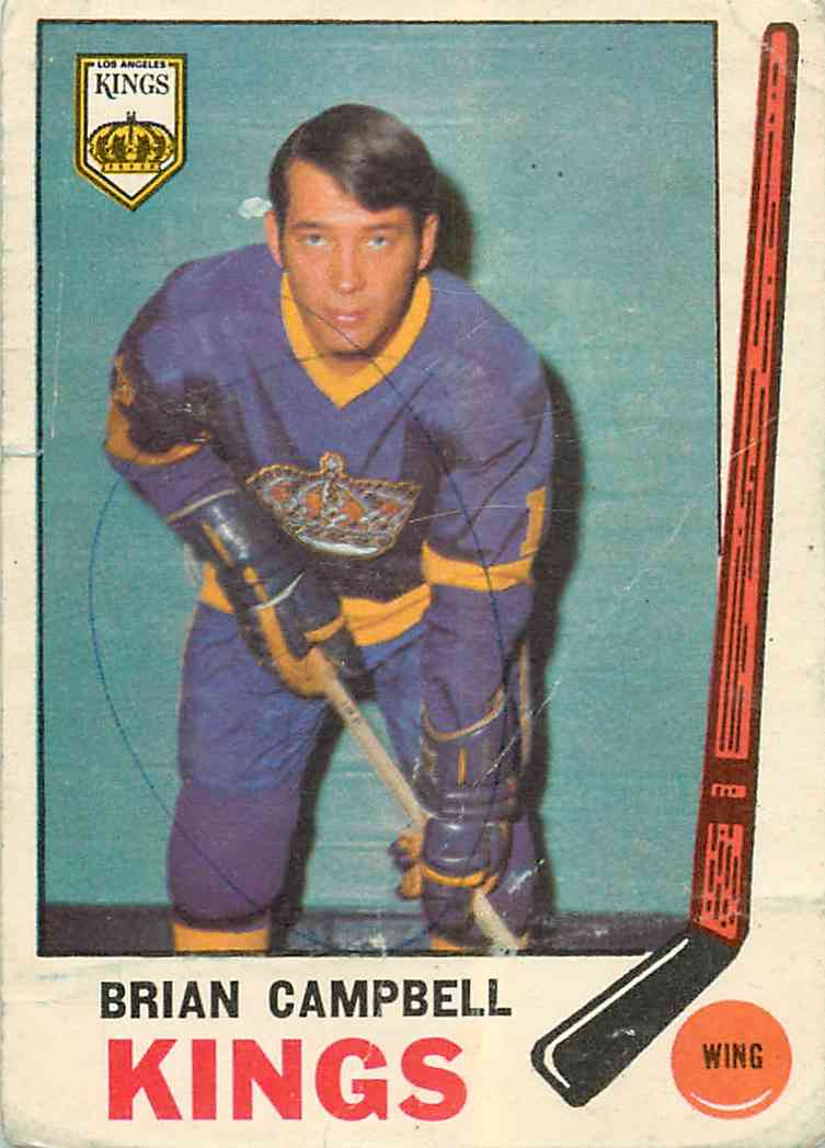 1969-70 Topps Brian Campbell #106 card front image