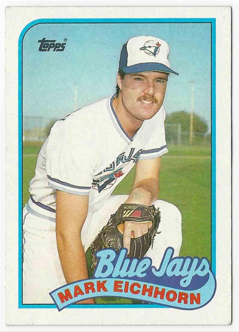 1987 Topps Mark Eichhorn #274 card front image