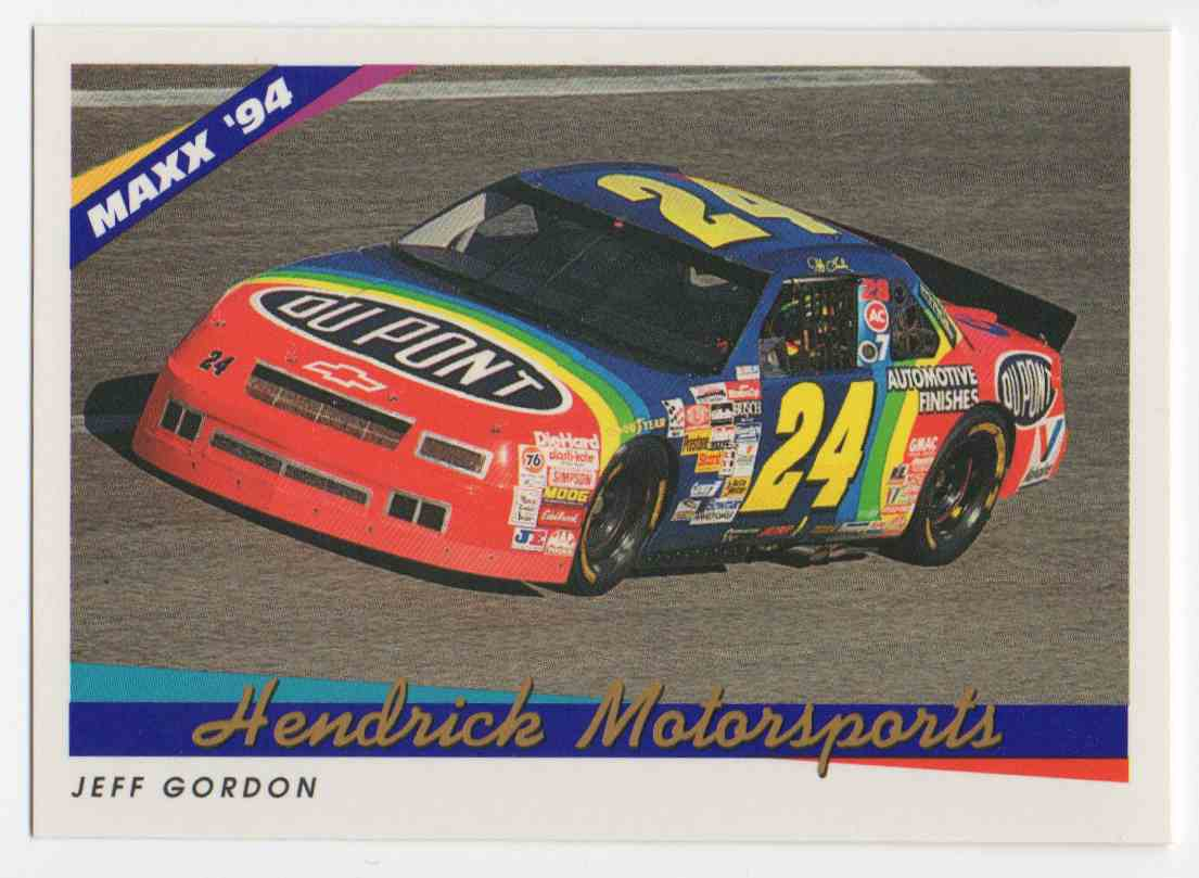 1994 Maxx Jeff Gordon #65 card front image