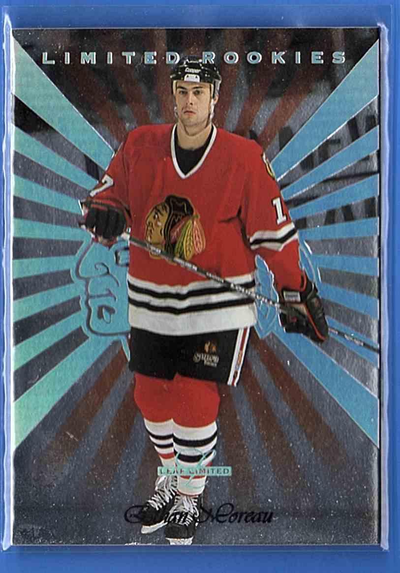 1996-97 Leaf Limited Ethan Moreau #1 card front image