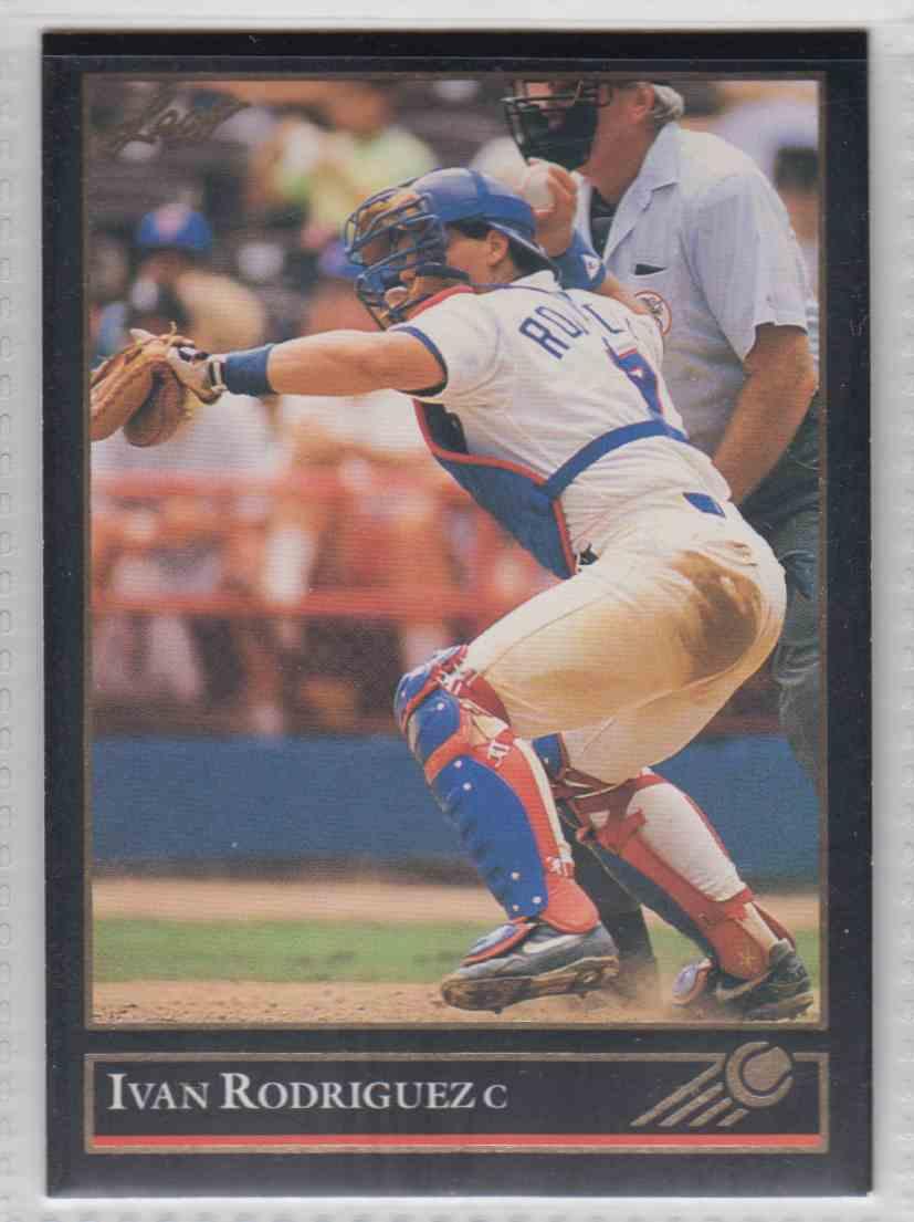 1992 Leaf Black Gold Ivan Rodriguez 194 On Kronozio