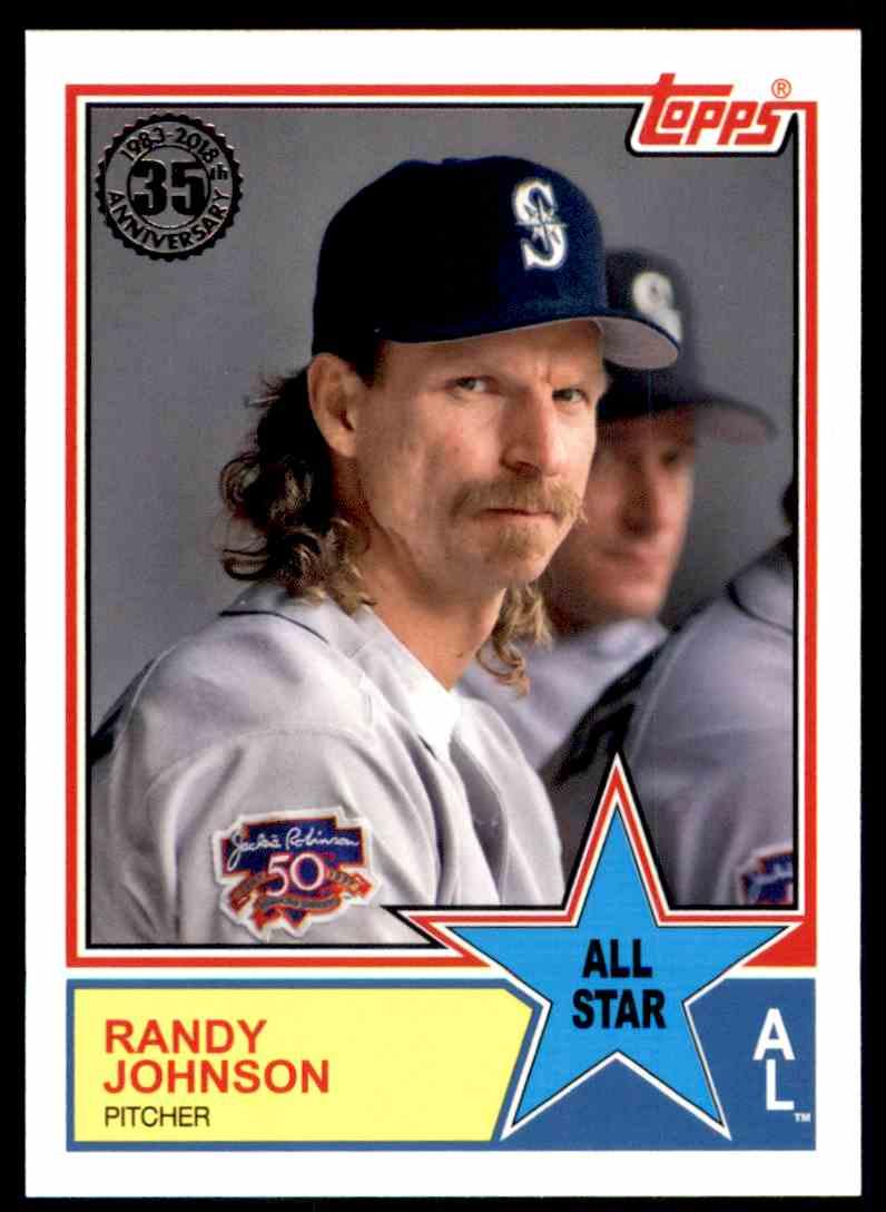 2018 Topps Series 2 1983 All Star Insert Randy Johnson On