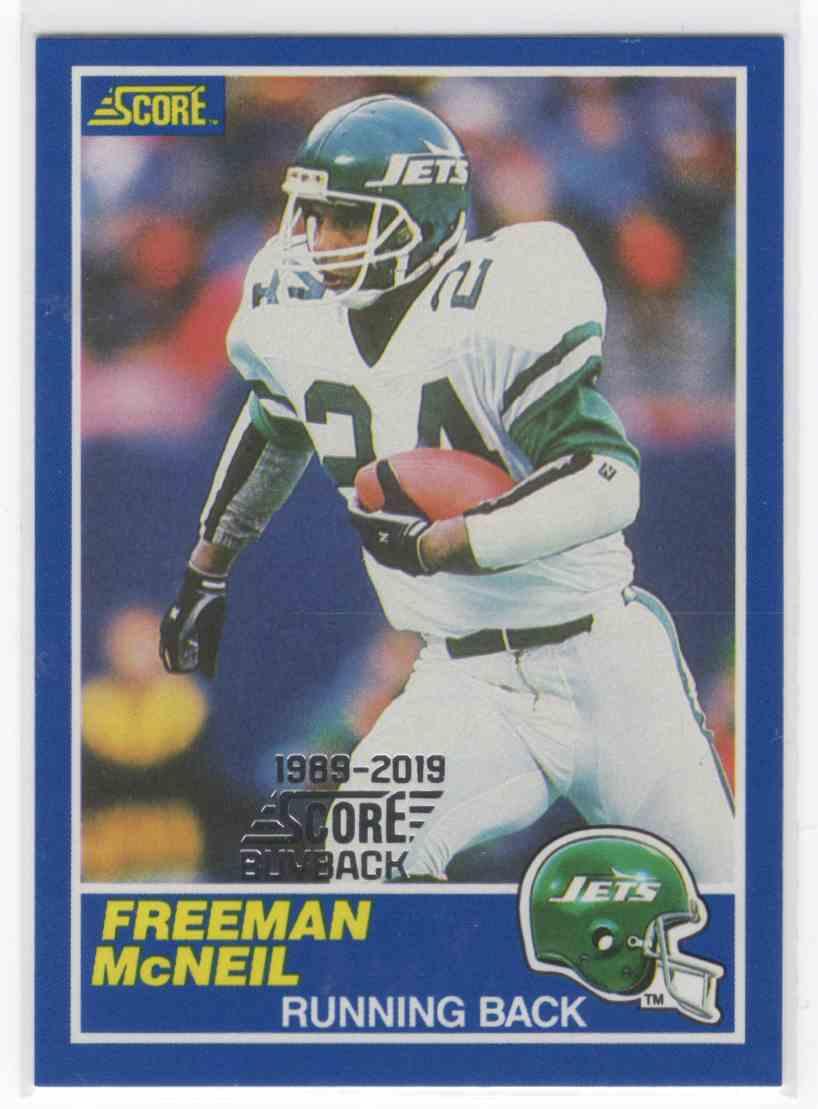 2019 Panini Score Freeman McNeil #24 card front image