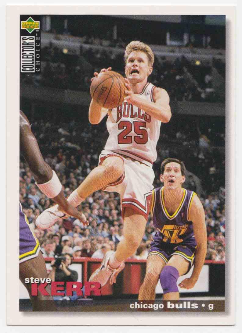 dbf47f2e2 1995-96 Upper Deck Collector s Choice International Base Steve Kerr  23  card front image