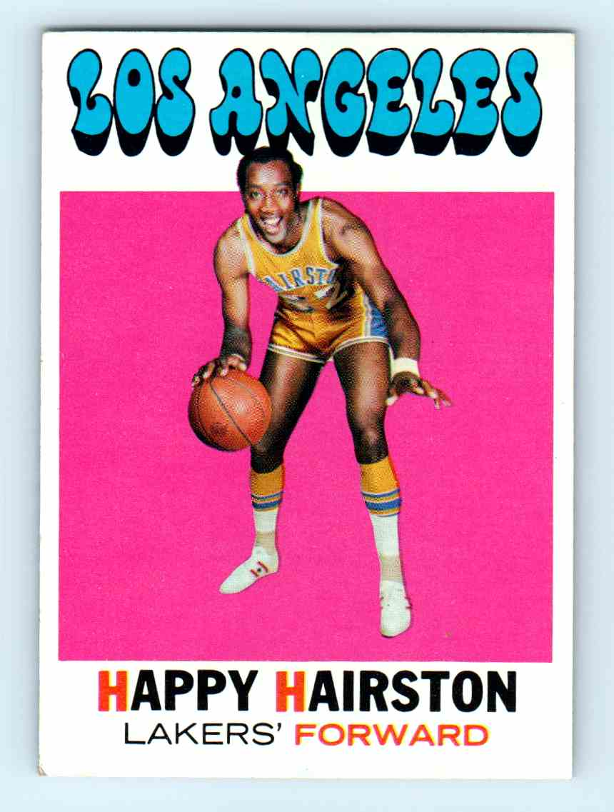 1971 72 Topps Happy Hairston 25 on Kronozio