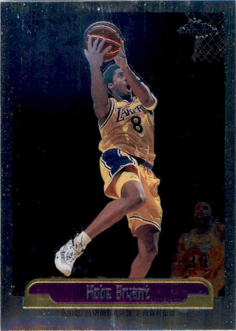 2000 01 Topps Chrome Kobe Bryant 125 On Kronozio
