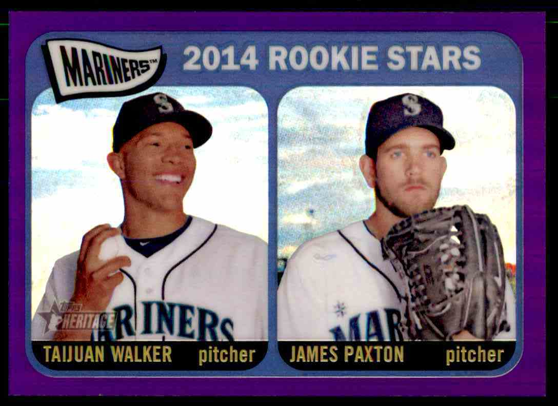 Taijuan Walker and James Paxton