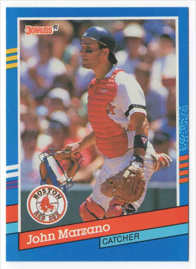 1991 Donruss John Marzano #346 card front image