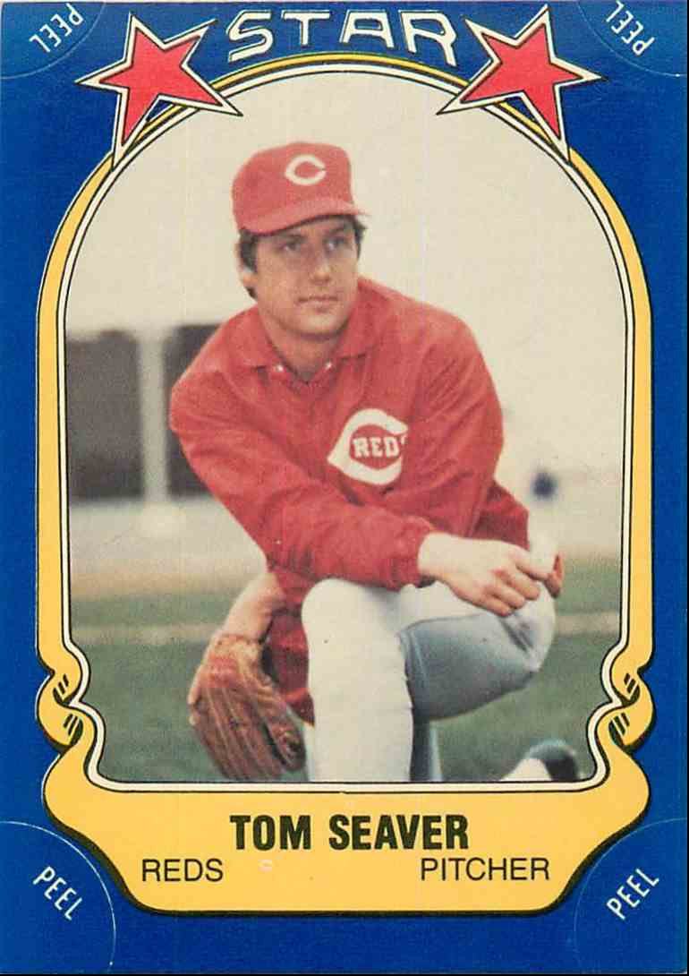 1981 Fleer Sticker Tom Seaver 49 On Kronozio