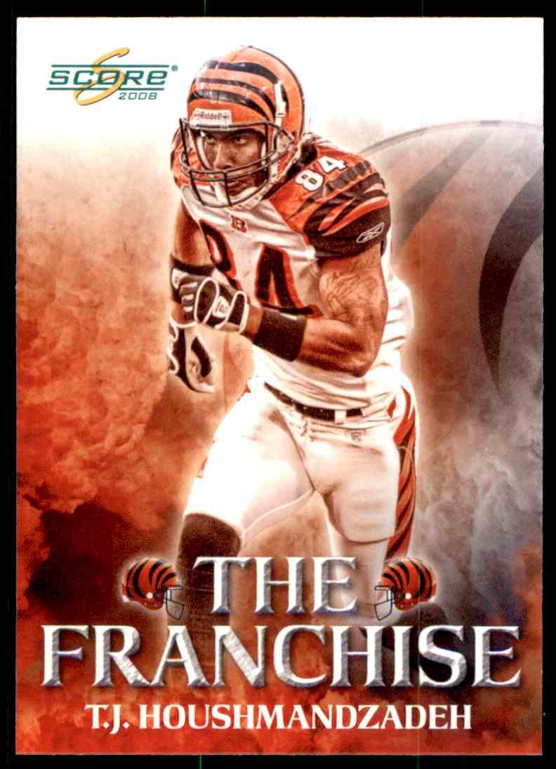 2008 Score The Franchise TJ Housmandzadeh F 7 Card Front Image