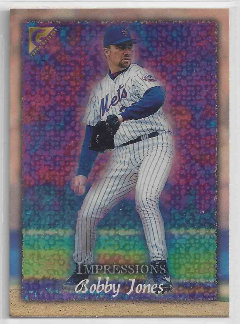 1998 Topps Gallerry Impressions Bobby Jones #144 card front image