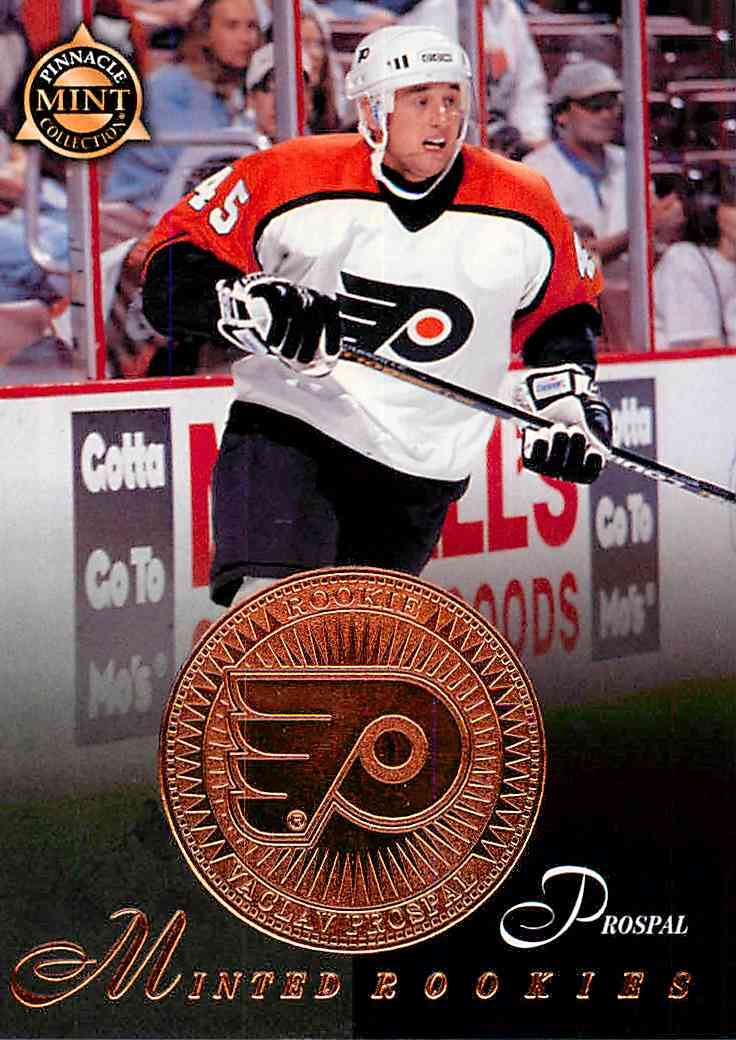 1997-98 Pinnacle Mint Bronze Vaclav Prospal #30 card front image