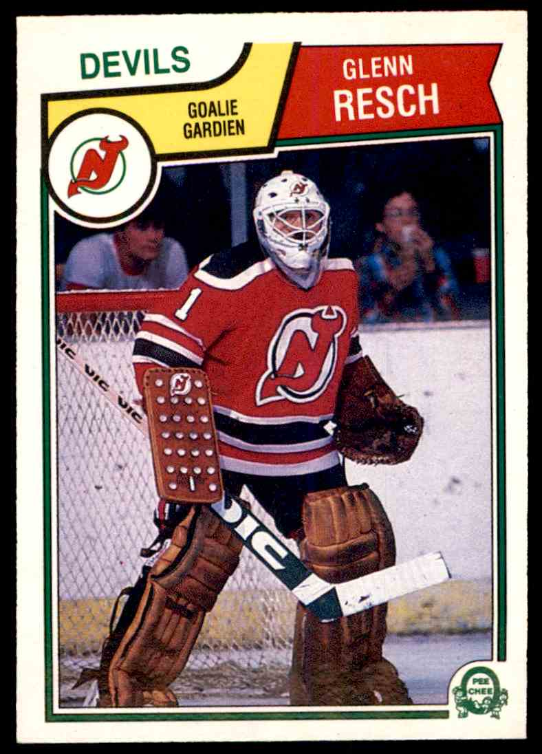 1983-84 O-Pee-Chee Glenn Resch #236 card front image