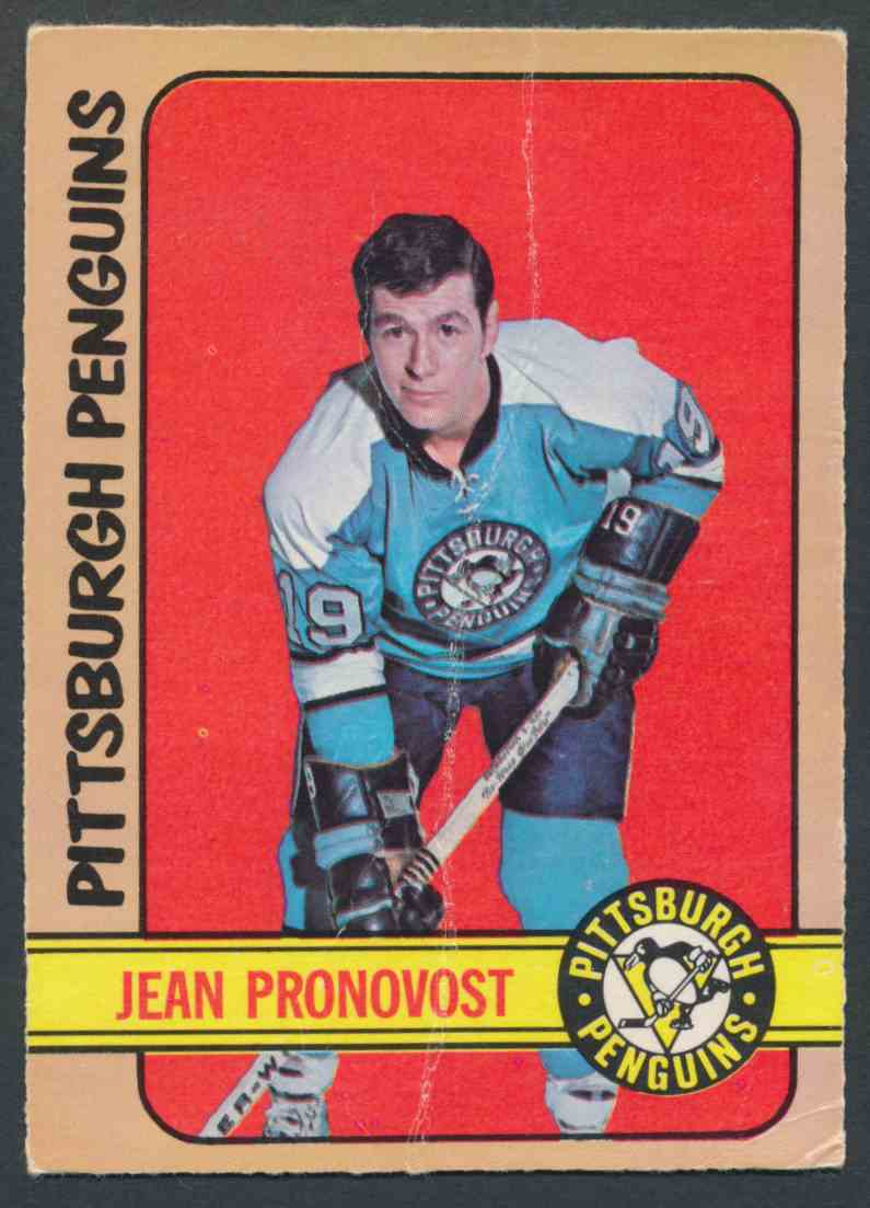 1972-73 O-Pee-Chee Jean Pronovost #64 card front image