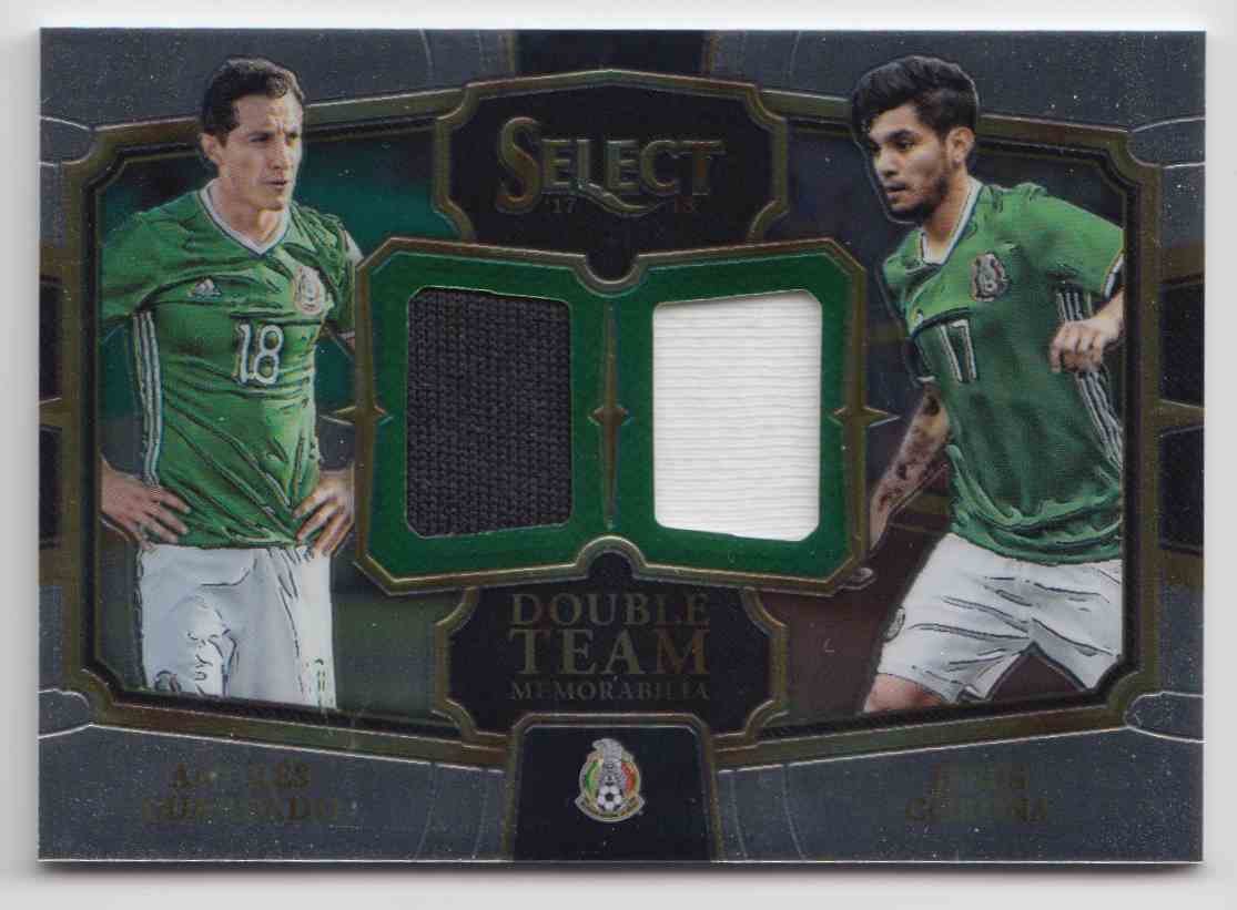 cb2ba144bd9 2017 Panini Select Double Team Andres Guardado Jesus Corona  DT-MX1