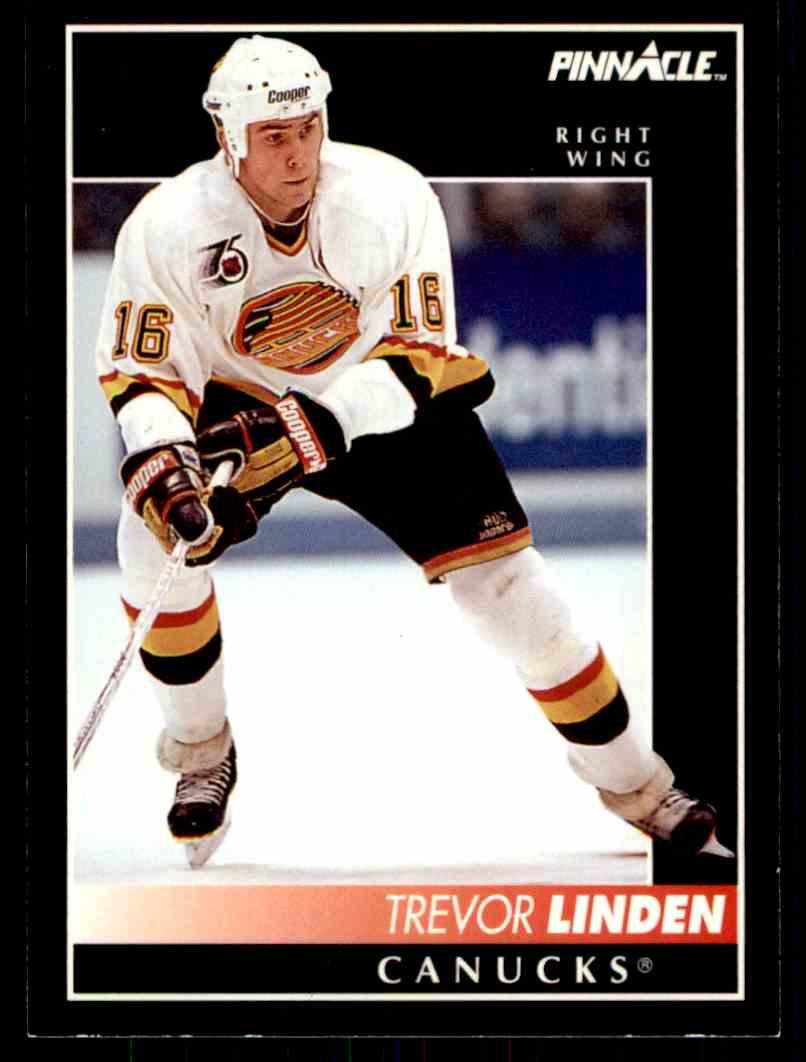 1992-93 Pinnacle Trevor Linden #47 card front image