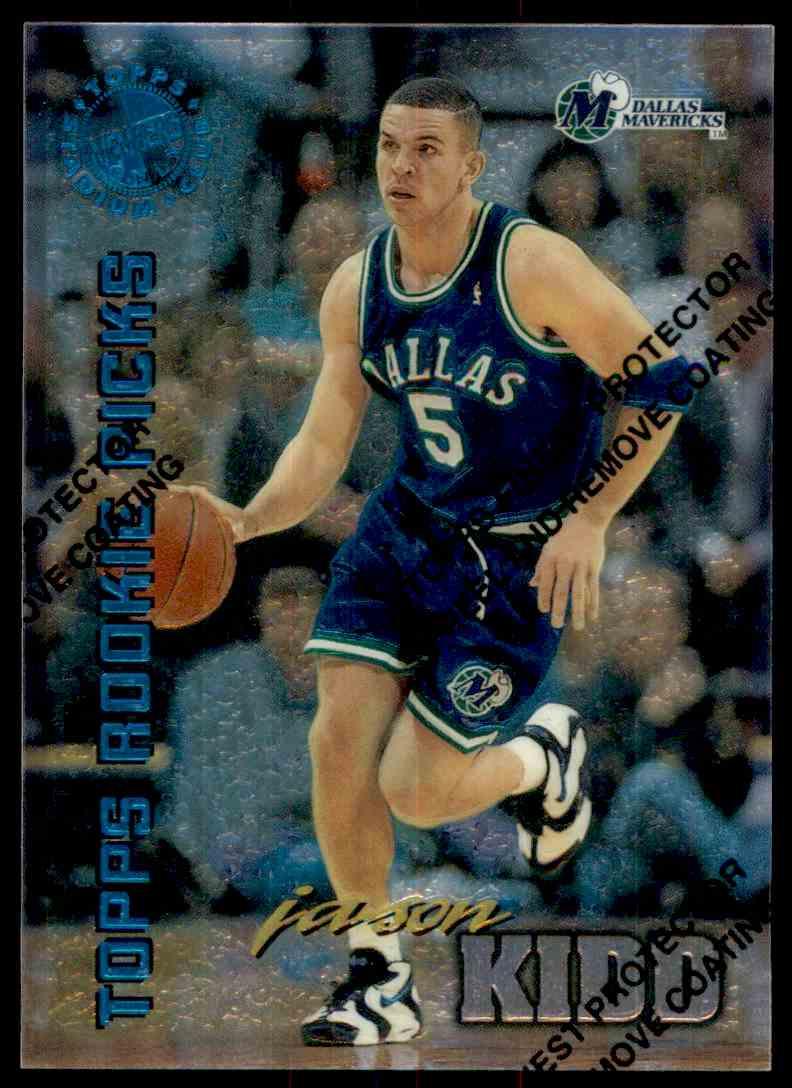 1994 95 Topps Stadium Club Rookie Picks Members Only Jason Kidd