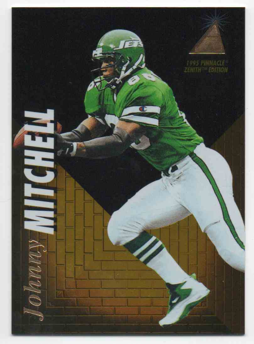 1995 Pinnacle Zenith Johnny Mitchell #3 card front image