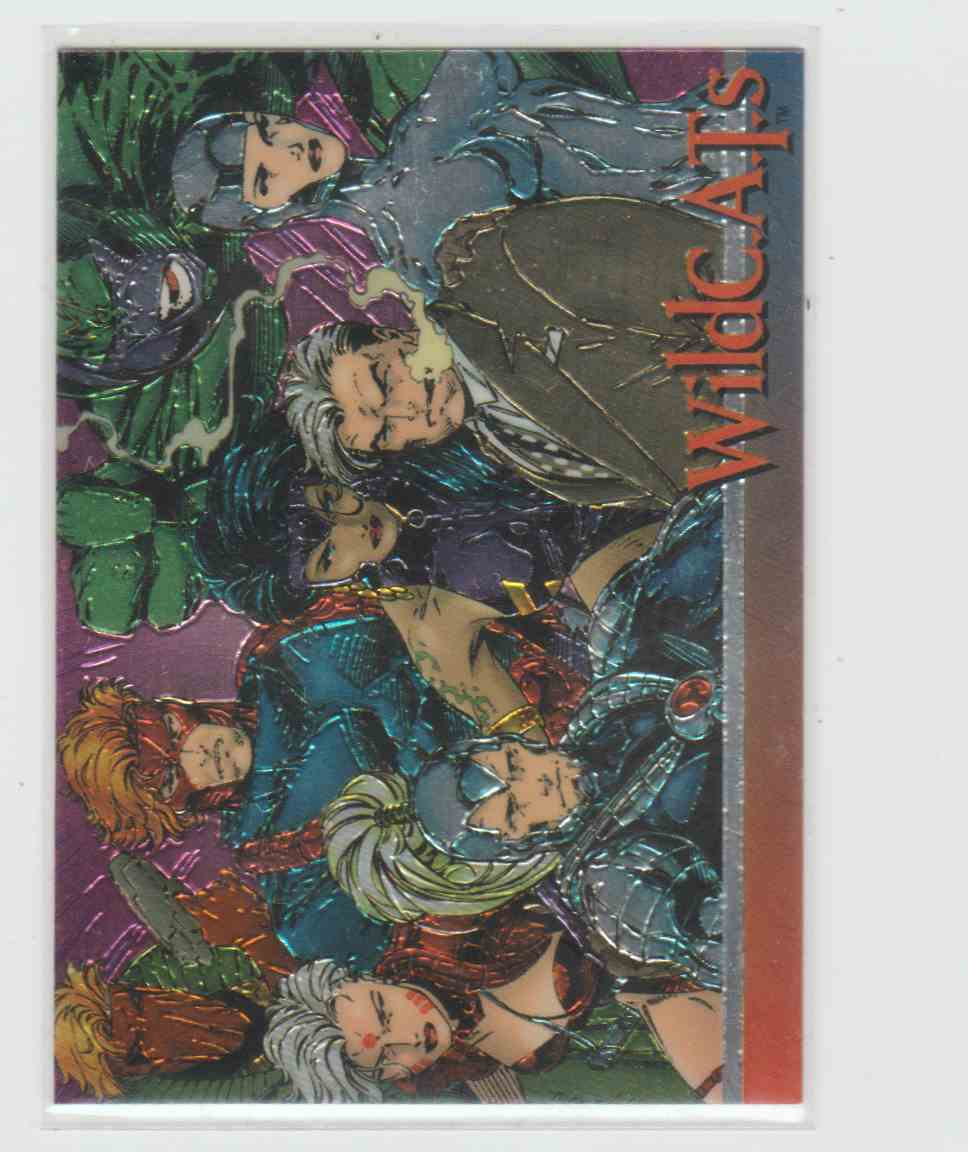 1993 Wizard Magazine Series 3 Chromium Promo Card 3 Wildc.A.T.S #3 card front image