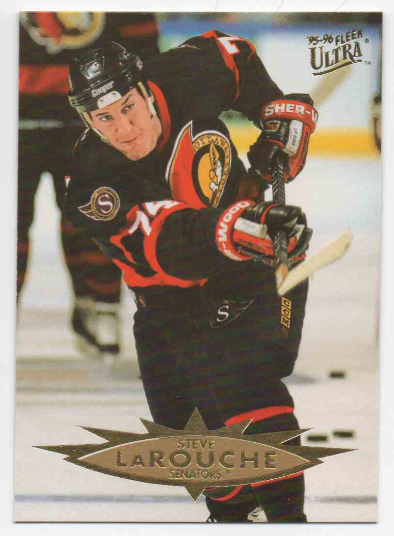 1995-96 Ultra Steve Larouche #112 card front image