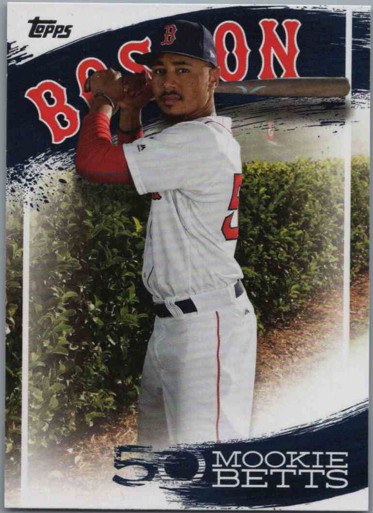 2019 Topps Mookie Betts Highlights Mb 30 Walmart Exclusive Series