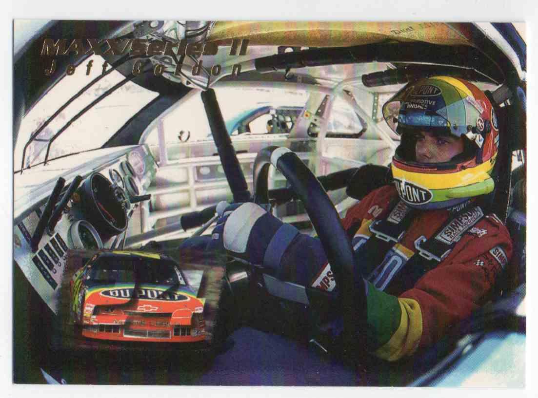 1995 Maxx Jeff Gordon #236 card front image