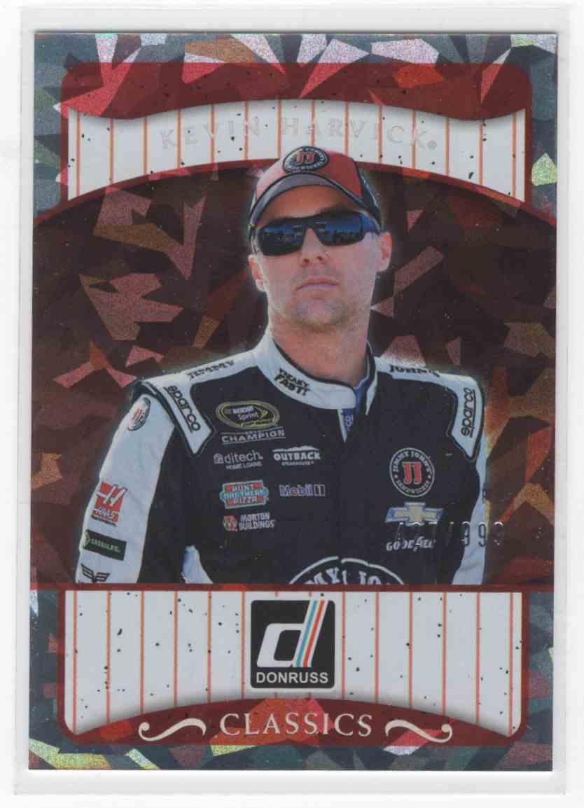 2017 Panini Donruss Racing Kevin Harvick #C9 card front image