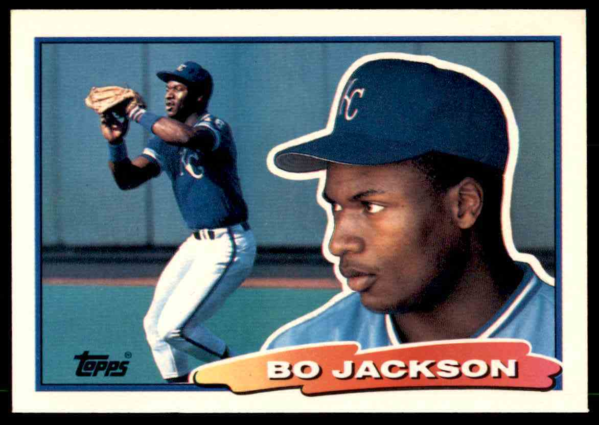 1988 Topps Big Baseball Bo Jackson 49 On Kronozio