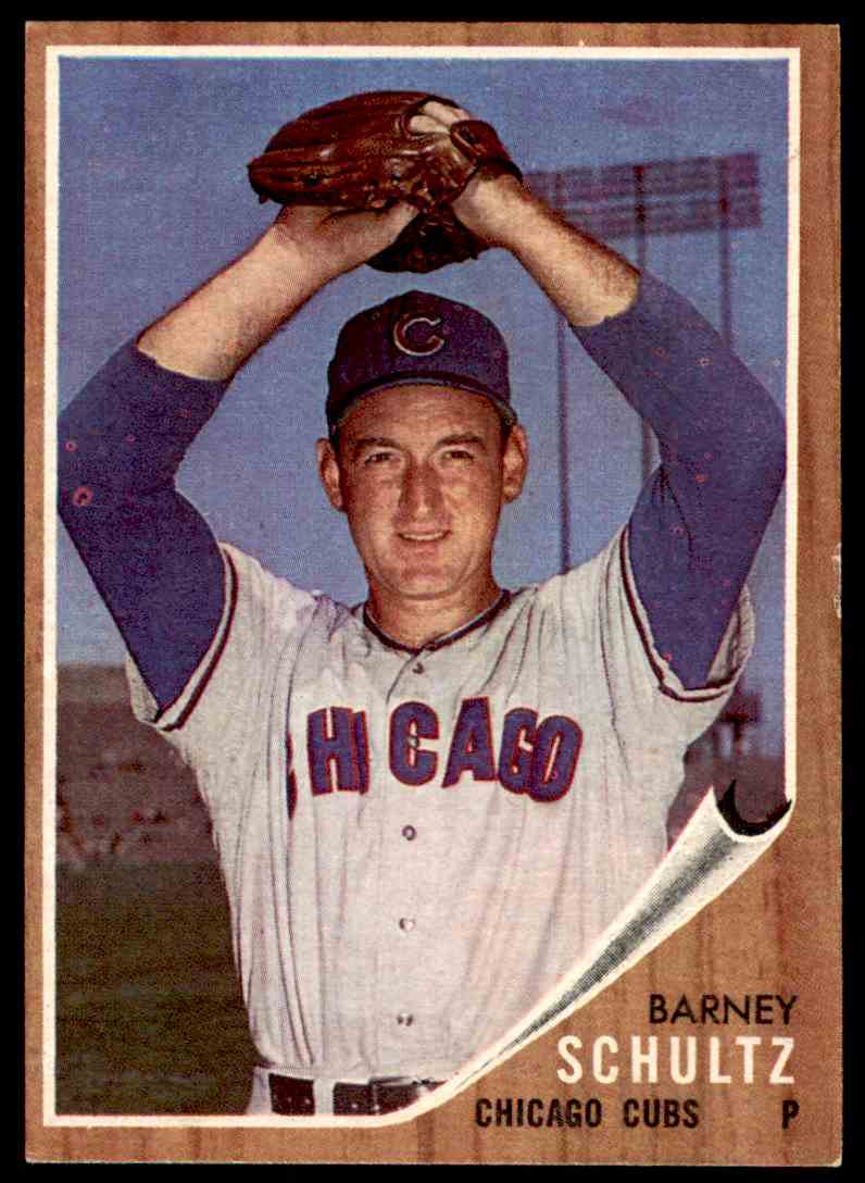 1962 Topps O Barney Schultz 89 Card Front Image