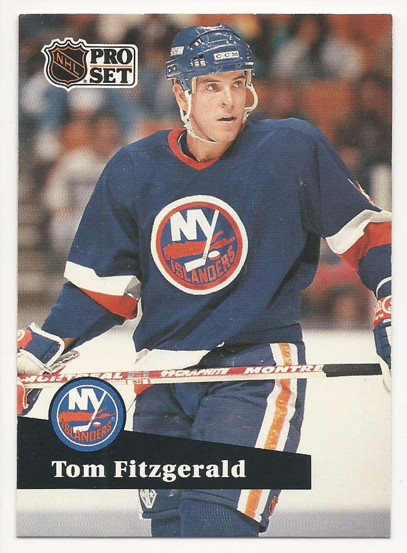 1991-92 Pro Set Tom Fitzgerald #431 card front image