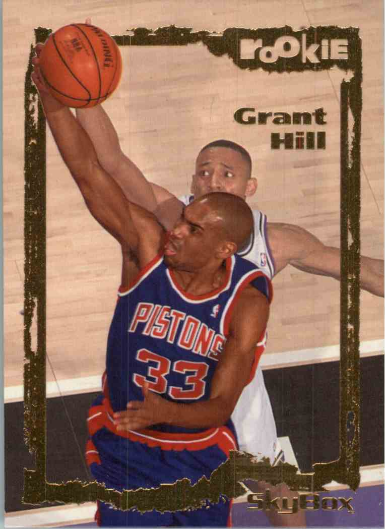 1995 96 Skybox Grant Hill 102 On Kronozio
