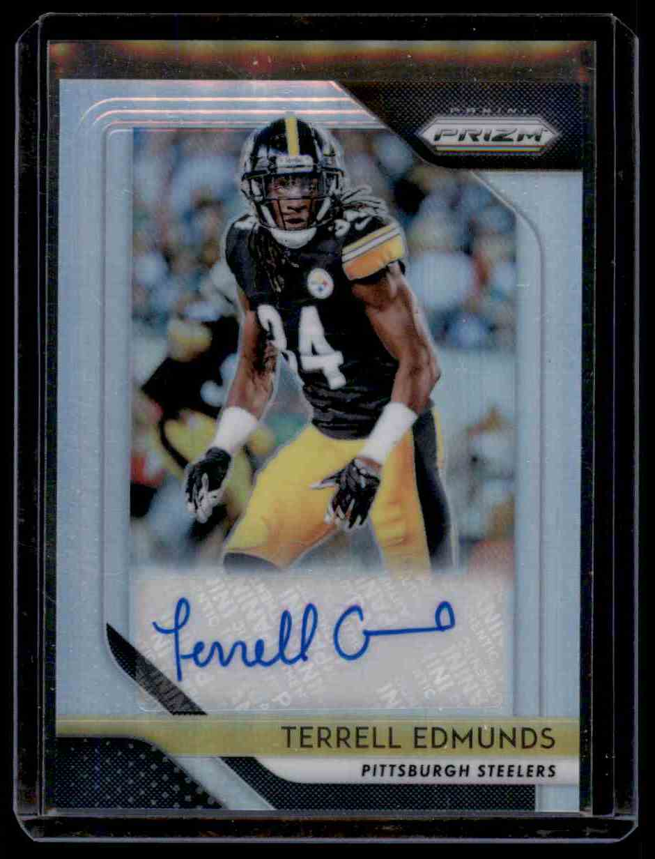 2018 Panini Prizm Terrell Edmunds card front image