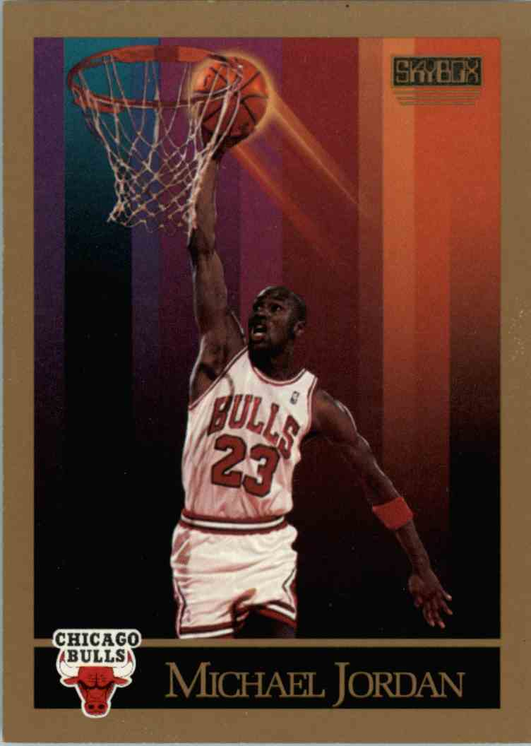 523a275379a 1990-91 Skybox Michael Jordan  41 card front image