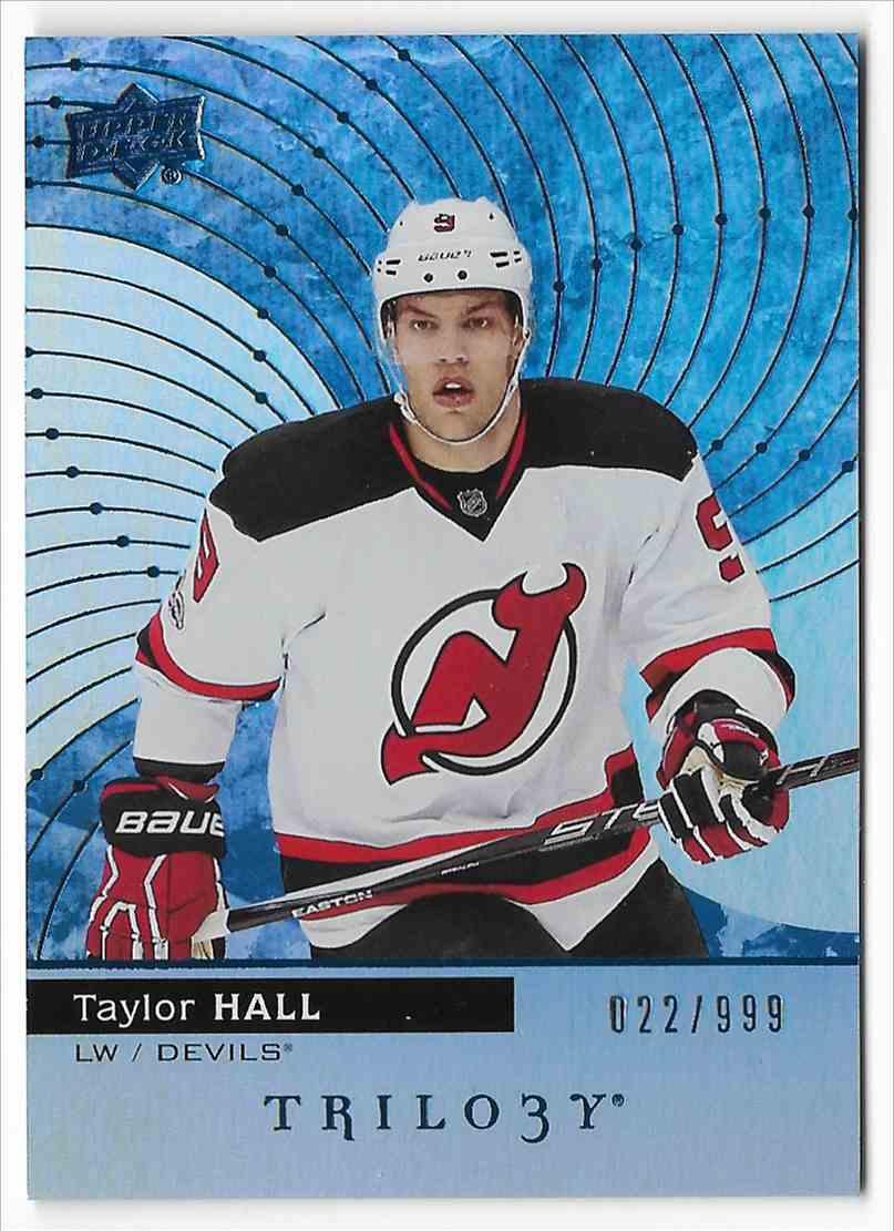 2017-18 Upper Deck Trilogy Taylor Hall #30 card front image