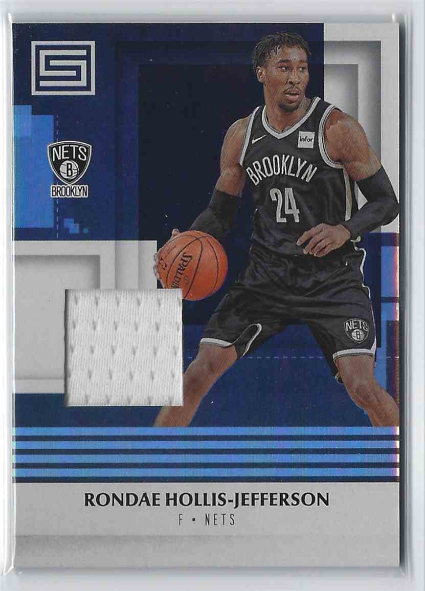 2017-18 Anini Status Materials Rondae Hollis-Jefferson #M-RHJ card front image