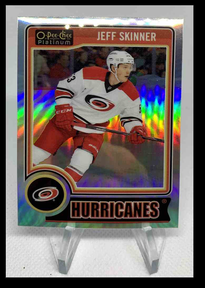 2014-15 O-Pee-Chee Platinum Jeff Skinner #68 card front image