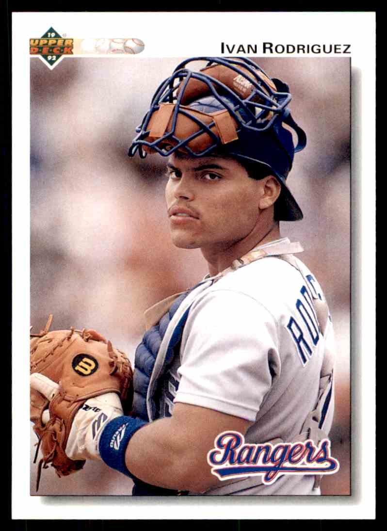 1992 Upper Deck Baseball Ivan Rodriguez 245 On Kronozio