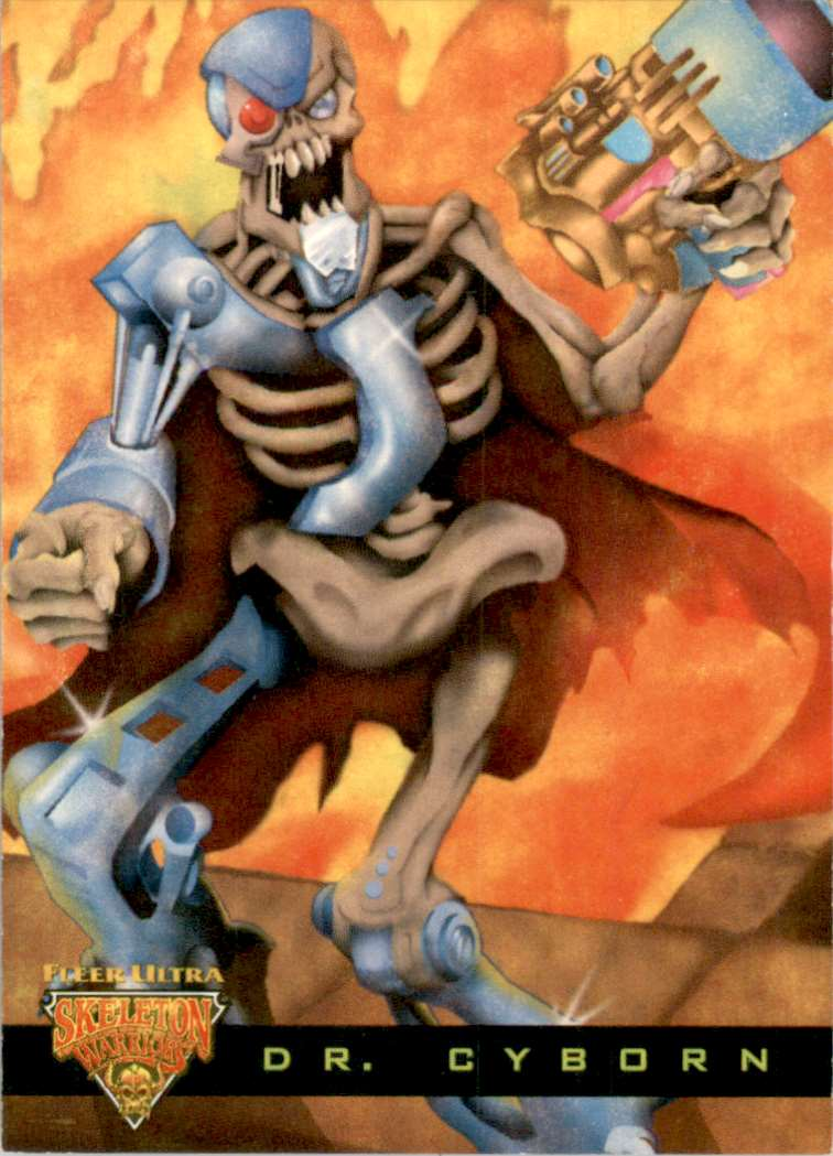 1995 Skeleton Warriors Ultra Luma Bone Dr. Cyborn #2 card front image