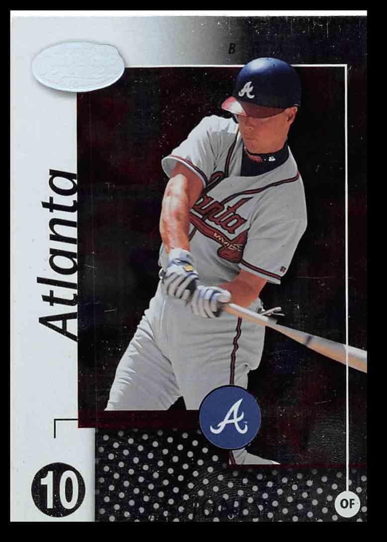 2 Chipper Jones Baseball Card Trading Cards For Sale