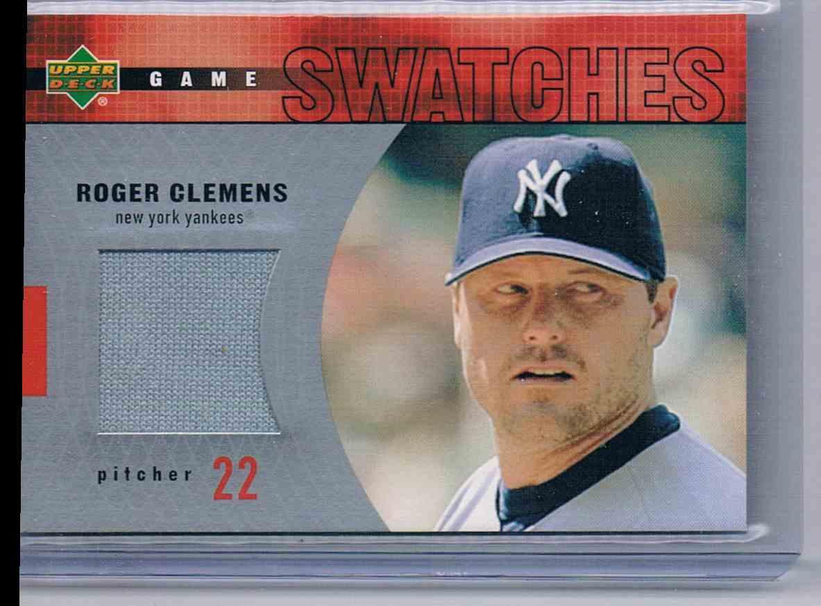 2002 Upper Deck Roger Clemens card front image