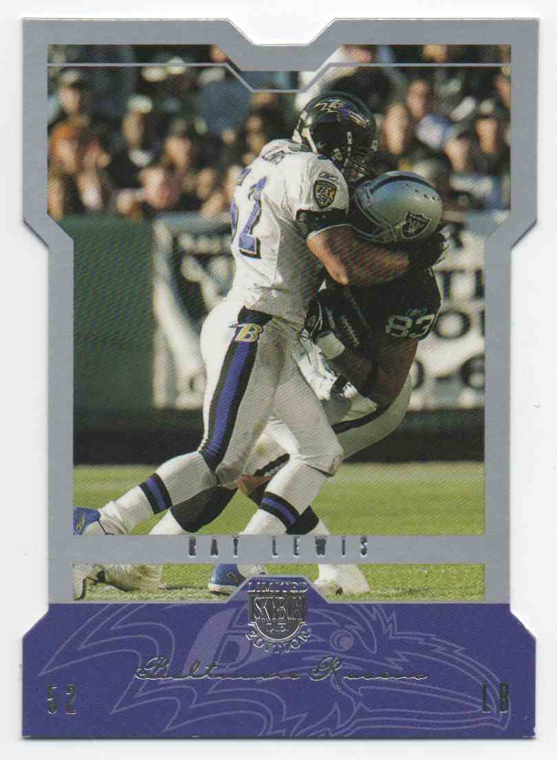 2004 Skybox L.E. Ray Lewis #39 card front image