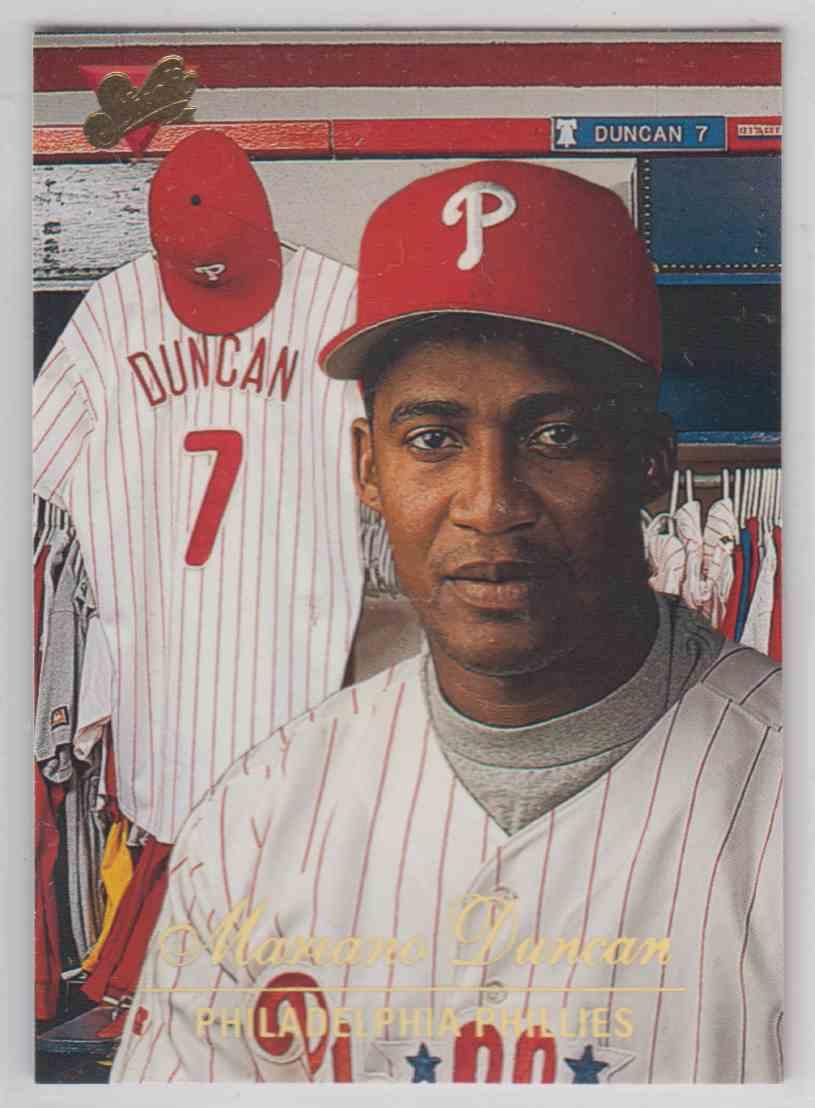 1994 Leaf Studio Mariano Duncan 137 On Kronozio