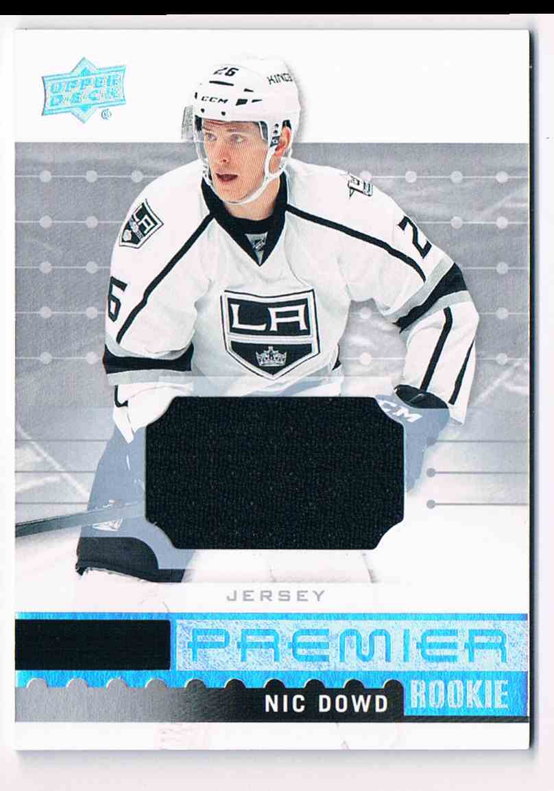 ... new zealand 2016 17 upper deck premier jerseys nic dowd r 32 card front  image d3bc7 48875abbb