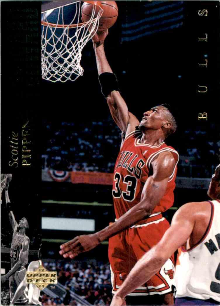 1993-94 Upper Deck Se Scottie Pippen #1 card front image