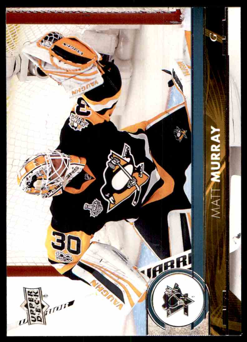 2017-18 Upper Deck Matt Murray #148 card front image