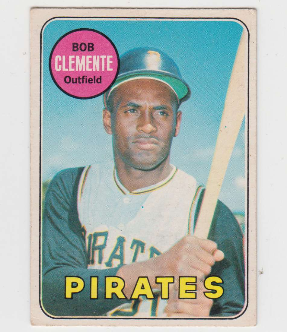 1969 O-Pee-Chee Roberto Clemente #50 card front image